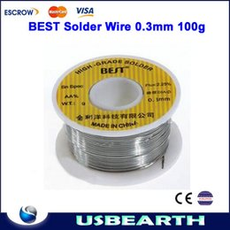 Wholesale Low melting point Leaded BEST Solder Wire mm g