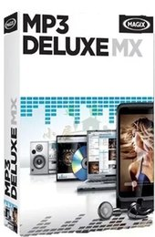 Wholesale CD MP3 music collection search management software MAGIX MP3 Deluxe MX v18