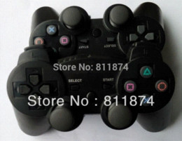 2014 Free Shipping Dual Wireless Controller,Wireless Joystick Game Joypad For PS3 Nintendo Cheap Nintendo Cheap Nintendo