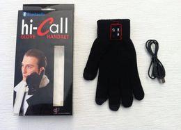 Nouveaux écrans de téléphone en Ligne-2016 nouveaux gants Bluetooth produit Parler Gants toucher les gants d'écran pour la fonction tactile Téléphones Téléphones portables de Moblie mains libres