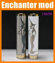 Wholesale Enchanter mod Mechanical mod Magician beatiful lady girl pk Manhattan mod Knight Pegasus mod AR e cigarette TZ279