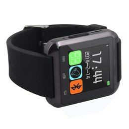 Wholesale U8 Bluetooth Smart Wrist Watch U Watches Altimeter Smartwatch Wristwatch For iPhone Samsung HTC Sony Cell Phones Free DHL