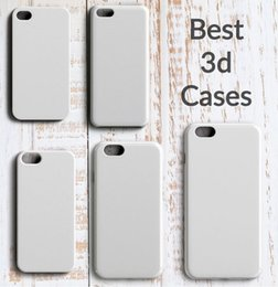Wholesale Iphone DIY D Sublimation Case GlossyMatte White Blank Cover For Iphone S S Plus Full Area Heat Transfer Printing