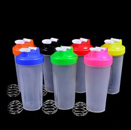 Wholesale Smart Shake Gym Protein Shaker Mixer Cup With Stainless Whisk Ball ML ML FG08106