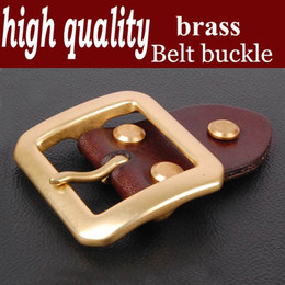 High-quality article belt accessories agio men belt clasp belt belt head, word of pure copper needle diameter 3.8cm Z003