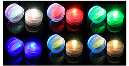 High quality 100% Waterproof LED Candle Wedding Decoration Submersible Floralyte LED Tea Lights Party Decoration LED Floral Light 100pcs