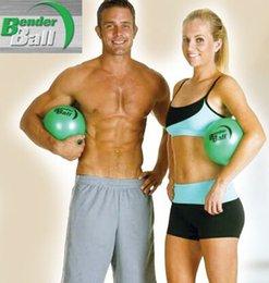 Wholesale 10 LJJH569 Hot bender ball Health Ball Perfect Position Slimming Body The Bender Method of Core Training