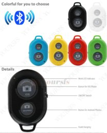 Mini Wireless Bluetooth Remote Shutter Camera Control Self-timer Shutter For Samsung S5 For iphone 4S 5S Free shipping MPM001