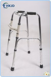 Wholesale 5 Folding Walking Frame Lightweight Walker Mobility Aid Zimmer Disability Portable Disabled Aid walk assist