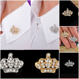 Promotion tiare broche strass New Style Fashion Tiara Broche Trendy Stylish Rhinestone Jewelry Breast Pins Fit For Wedding Party XZ0006 * 1