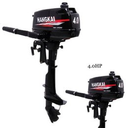 Wholesale 2014 New Design Best Quality stroke HP HANGKAI outboard motor boat engine air cooled US warehouse