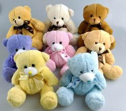 Teddy Bears Plush Toys High Quality 15cm Cute Soft Plush Baby Teddy Bears Dolls Valentines Gifts