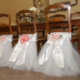 Wholesale 2015 White Wedding Chair Covers Bow Cheap Modest Fashion New Arrive Hand Made Sexy Hot Sale Wedding Supplies Elegant Toto