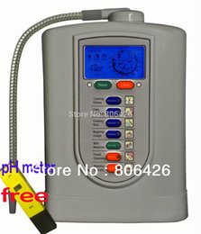 Wholesale 5 Plates Kangen water Alkaline water ionizer Japan Tech Taiwan made with built in NSF filter pH Meter gifted