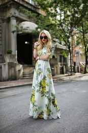 New summer dress fashion casual prom dress sexy Printing the dress maxi dress summer style Women's Clothing