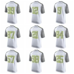 Wholesale 2015 Pro Bowl Football Limited Jerseys American Wears Gray White Clothing Discount Cheap Hot Sell