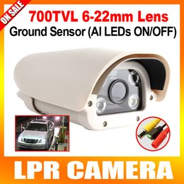 Wholesale Analog Sony TVL For Parking Toll gate Vehicle Automatic Number Plate Recognition ANPR Camera Intelligent mm Lens Outdoor Use
