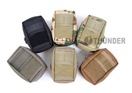 Wholesale 1000D Thunder small EDC molle mini tactical waist pack accessories equipment bags nylon pockets Pouch for Camping