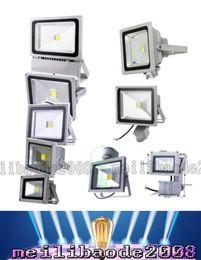 GLW LED flood light PIR Motion Sensor lamp 10W 20W 30W 50W outdoor Floodlight