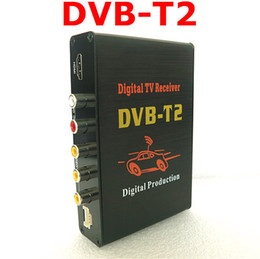 Wholesale GPS High Speed Car HD DVB T2 MPEG Mobile cars Digital TV Turner Receiver USB digital auto tv box dvb t2 car dvbt2 mpeg4 KM H