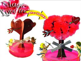 iWish iWSD-10 New Visual 2017 7x7cm DIY Red Big Magic Growing Paper Love Tree Kit Magically Grow Trees Christmas Kids Toys For Children 2Pcs