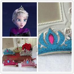 Frozen Hairpins Tiara Crown Hair Sticks Clips Barrettes for children Christmas gift Hair pin Barrettes Hair jewelry