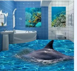 Wholesale 3 d ecological brick floor tile prevent slippery brick sitting room toilet can be customized