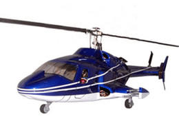 Wholesale Bell helicopter W retracts airwolf V3 Blue amp White similar as heliartist airwolf fuselage