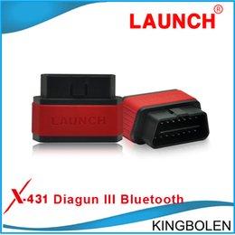 Wholesale 100 Original Launch X431 Diagun III Bluetooth X Diagun BT Diagun3 Bluetooth DiagunIII update via Launch website DHL