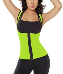 XS-5XL Plus Size Womens Waist Cincher Trainers Slimming Body Shapers Sport Sweat Waist Training Corsets Neoprene Corsets and Bustiers