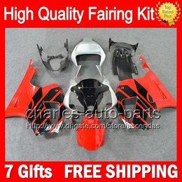 7gifts+Red black Bodywork For HONDA VTR1000 00-07 VTR 1000 RTV1000 46CL0 VTR1000R 00 01 02 03 04 05 06 07 RC51 SP1 SP2 Red black Fairing Kit