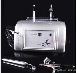 Wholesale 2015 New Portable GL6 gl6 Water Oxygen Jet Peel Machine in Pure Oxygen Facial Machine For Skin Acne Treatment Skin Care