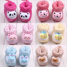 Wholesale-Free shipping winter cute baby toddler shoes   fashion leopard home shoes   soft shoes   You can choose the style