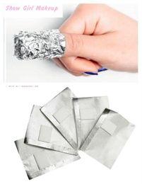 Wholesale Aluminium Foil Nail Art Soak Off Acrylic Gel Polish Nail Removal Wraps Remover Makeup Tool