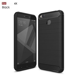 cellphone Cases, Ultra Light Carbon Fiber Armor ShockProof Brushed Silicone Grip Case For Xiaomi Redmi 4A Xiaomi5C Xiaomi 6 Xiaomi A1 Xiao