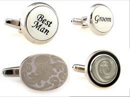 4 Kinds Fashion Men's Cufflinks For Wedding Unique Crystal Gem Cover Cuff Links Elegant Decoration Stainless Steel Sleeve Nail