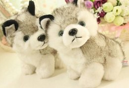 HOT Husky dog plush toys,stuffed animals toys&hobbies Stuffed & Plus Animals
