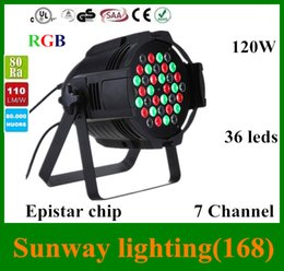 Wholesale Moving Laser lights clubs American Club laser lights led stage lighting DMX W Colors LED RGB DJ Disco Club Party Stage Effect Lighting