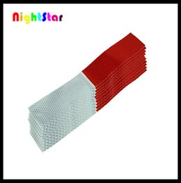 Wholesale Warning Car Strip Reflective Truck Auto Supplies Night Driving Safety Secure Body Red and White
