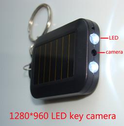 Anillo de luz led de la cámara en Línea-LED HD cámara ocultada 1280 * 960P mini dvr de la llave de múltiples funciones de la función del micr
