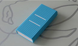 Colorful Original Xiaomi Power Bank Silicone Cover Case Funda For 20000mAh Xiaomi External Battery Sleeve Case