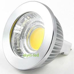 100X NOUVEAU Super lumineux 5W 7W COB MR16 12V LED Projecteur Dimmable Lampe Chaud Spot blanc ampoule CE RoHS à partir de mr16 blanc chaud torchis 5w fournisseurs