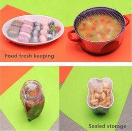 Wholesale Food Grade Silicone Fresh Keeping Film FDA Preservative Films Plastic Wrap Food Storage Mats