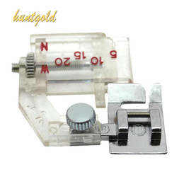 Wholesale Practical Serger Snap on Sewing Supplies Adjustable Sewing Machine Presser Foot