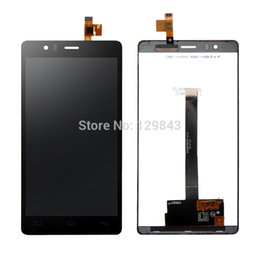 Wholesale-Original Pantalla LCD Display +Touch Screen Digitizer+Tempered Glass For Spain phone BQ Aquaris E6 FHD IPS5K0750FPC-A1-E NEGRO