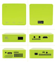Wholesale Original UNIC UC50 DLP LED Mini Pico Projector FHD P LM Multimedia Home Theater Beamer Projektor HDMI USB AV TF IR