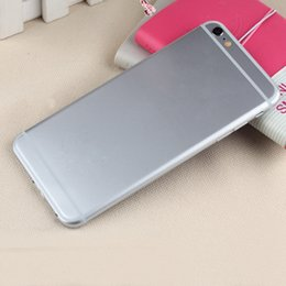Wholesale Aluminum Alloy I6s Plus I6s inch MTK6582 Quad Core Android G Smartphone Rom G Ram G MP Camera GPS Unlocked Cellphone DHL Free