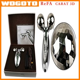Wholesale 2016 NEW Solar Refa Two Circular Roller Personal Face Care Massager Waterproof body and Facial Massage Machine VS Clarisoni tripollar STOP
