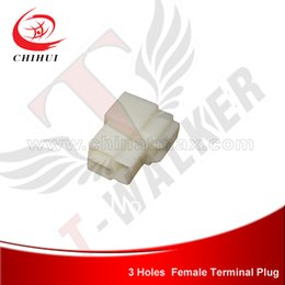 Wholesale High Quality Holes ABS Terminal Plug Ins Power Wire Plug for Scooters Pocket Bikes Mini Motos