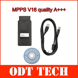 Wholesale Newest Version MPPS V16 ECU Chip Tuning for EDC15 EDC16 EDC17 Inkl CHECKSUM with Multi language
